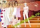 Играть в игру  Одеваем девушку 3