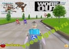 Игра  Wheel chair Race