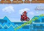 Играть в игру  Santas Motorbike