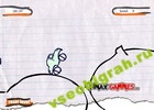 Играть в игру  Sketch Rider