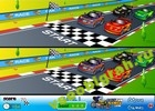 Играть в игру  Racing Caetoon Differences