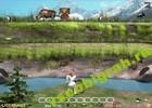 Скриншот из игры Сбей пингвина