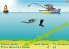 Играть в игру  Shark the Fisherman