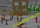 Играть в игру  Christmas Zombie Defence