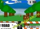 Играть в игру  Zombie Bears