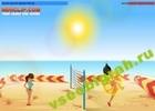 Играть в игру  Boom Boom Volleyball