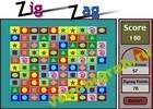 Играть в игру  Zig-Zag