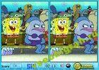 Играть в игру  Sponge Bob Spot the Difference