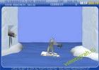 Играть в игру  Yeti Sports - Seal Bounce