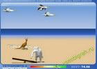Играть в игру  Yeti Sports - Albatros Overload