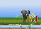 Играть в игру  Yeti Sports - Flamingo Drive