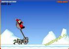 Играть в игру  Slingshot Santa